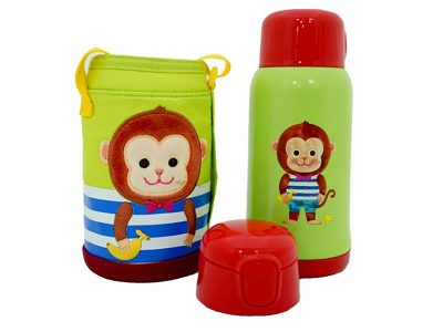 Bình nước giữ nhiệt Cartoon Kids Vacuum Bottle 550ml Lock&Lock