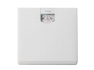 Cân sức khỏe Lock&Lock dùng trong gia đình - 120kg - Màu trắng