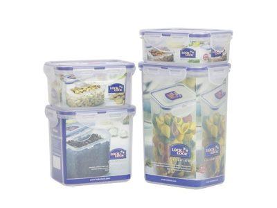 Bộ 4 hộp nhựa bảo quản Lock&Lock Classic