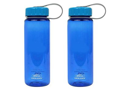 Bình nước L&L Aqua nắp và thân bình màu xanh (KO IN)- 500ml -ABF613B2