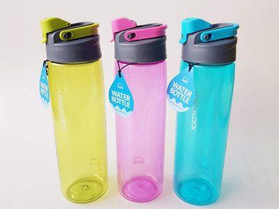 Bình nước nhựa Tritan 950ml - Màu hồng/ Màu xanh dương/ màu xanh lá - ABF950