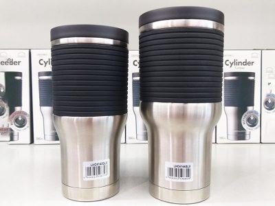 LHC4143SLV - Bình giữ nhiệt bằng thép không gỉ Lock&Lock Cylinder Tumbler 470ml - Màu bạc