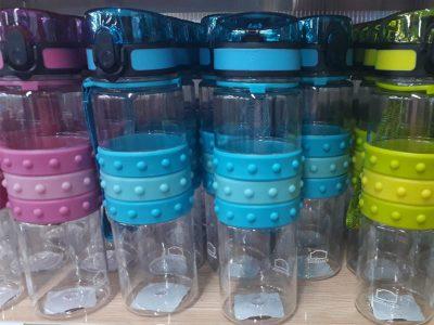 Bình nhựa đựng nước Lock&Lock Easy-Grip 550ml P&Q - P-1701GRN